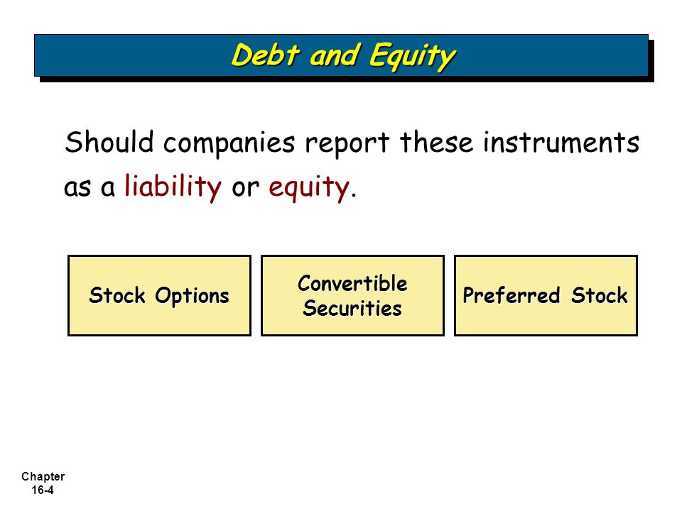 Chapter 16-5 (at the holder's option) Benefit of a Bond (guaranteed interest) Privilege of Exchanging it for Stock Bonds which can be converted into other corporate securities are called convertible bonds.