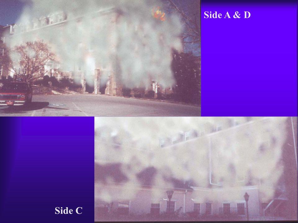 Side A & D Side C