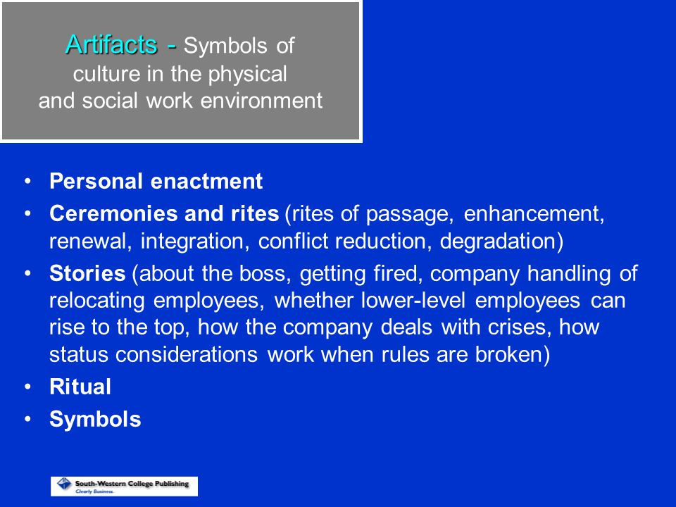 Stages of Socialization Realism Congruence Job demands Task Role Interpersonal Mastery 1.