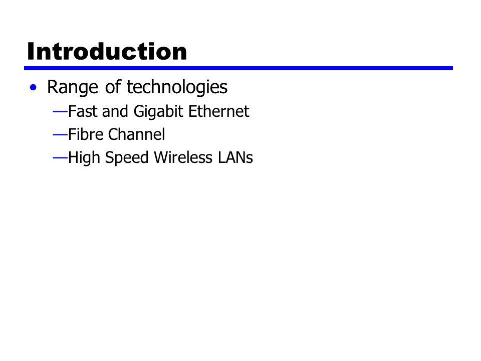 100Mbps (Fast Ethernet) 100Base-TX100Base-FX100Base-T4 2 pair, STP2 pair, Cat 5 UTP2 optical fiber4 pair, cat 3,4,5 MLT-3MLT-34B5B,NRZI8B6T,NRZ