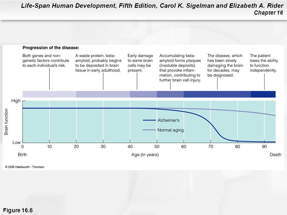 Life-Span Human Development, Fifth Edition, Carol K. Sigelman and Elizabeth A. Rider Chapter 16 Figure 16.6