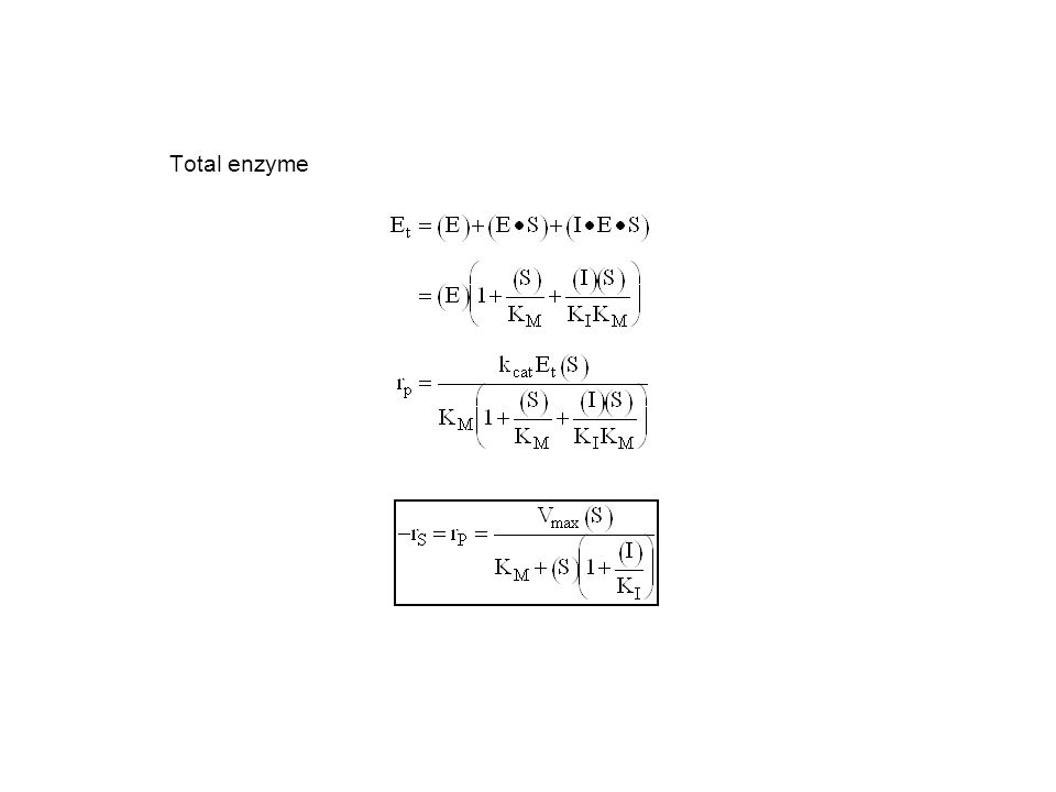Total enzyme
