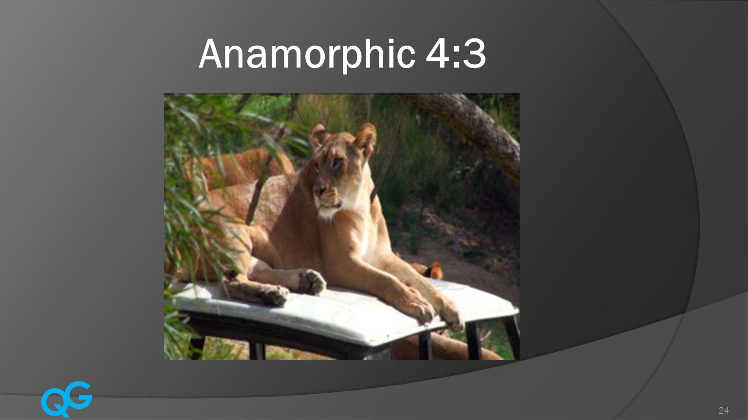 Q G 24 Anamorphic 4:3