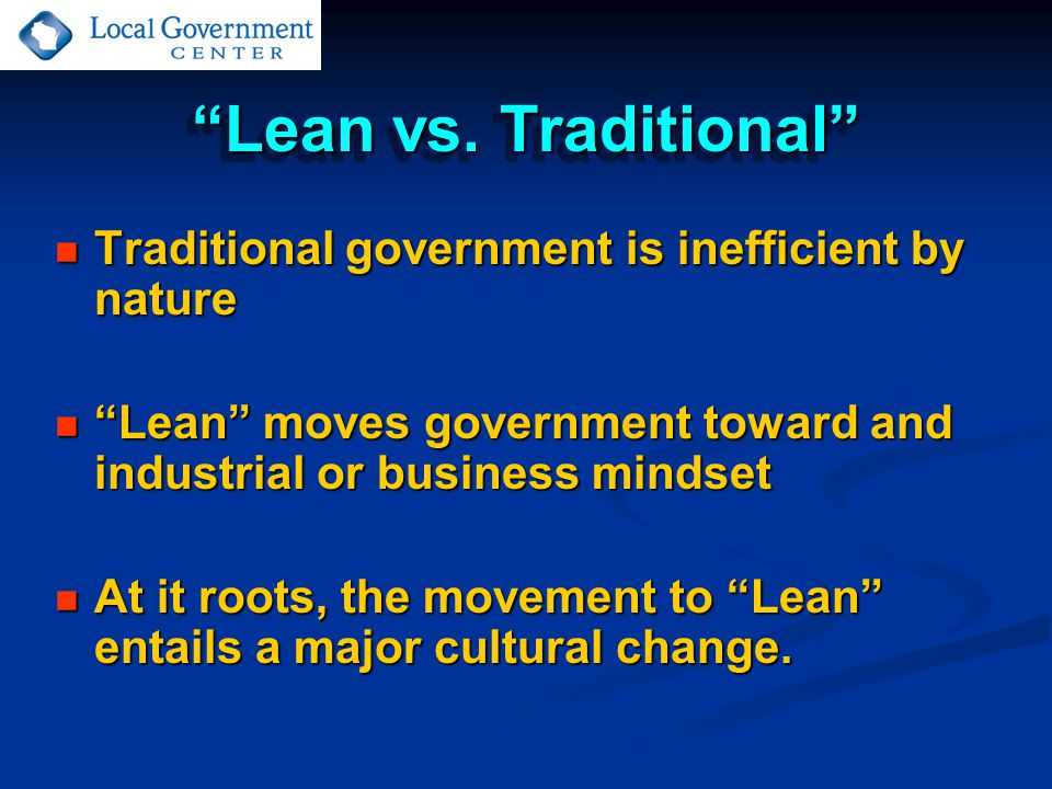 Lean vs.