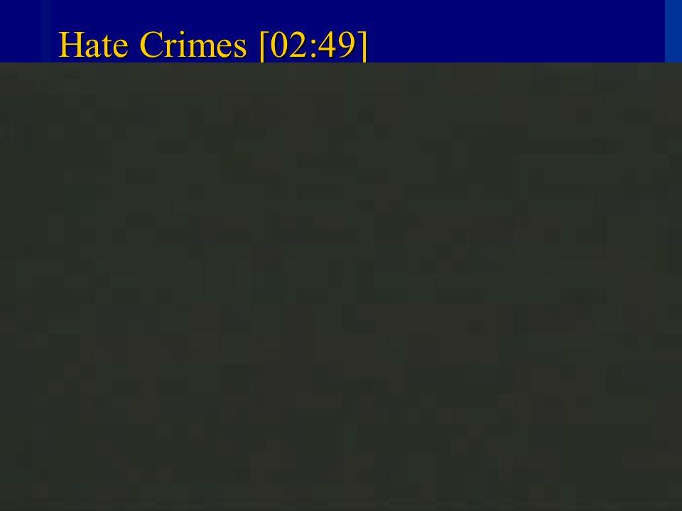 CIVICS IN PRACTICE HOLT HOLT, RINEHART AND WINSTON6 Hate Crimes [02:49]
