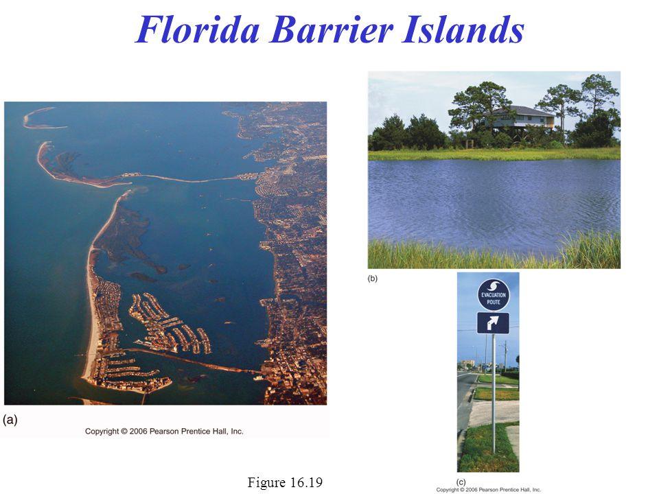 Figure 16.19 Florida Barrier Islands