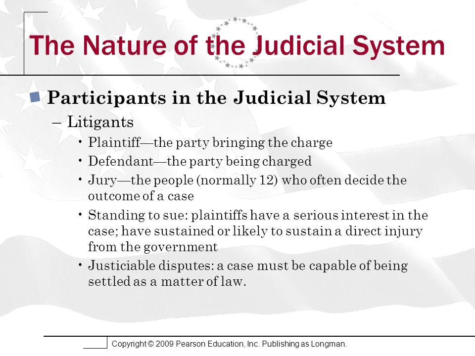 Copyright © 2009 Pearson Education, Inc. Publishing as Longman. The Politics of Judicial Selection