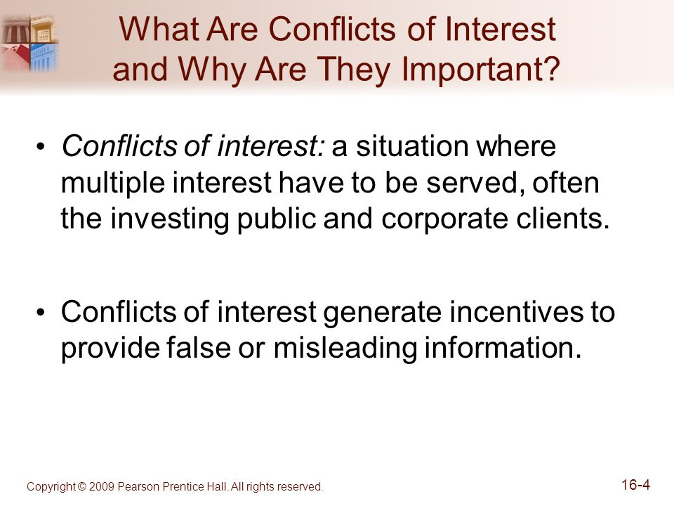 What Are Conflicts of Interest and Why Are They Important.