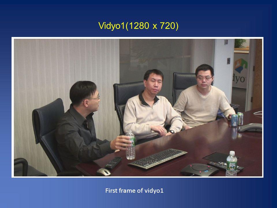 Vidyo1(1280 x 720) First frame of vidyo1