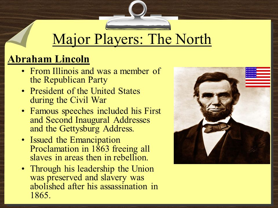Major Players: The North Ulysses S.