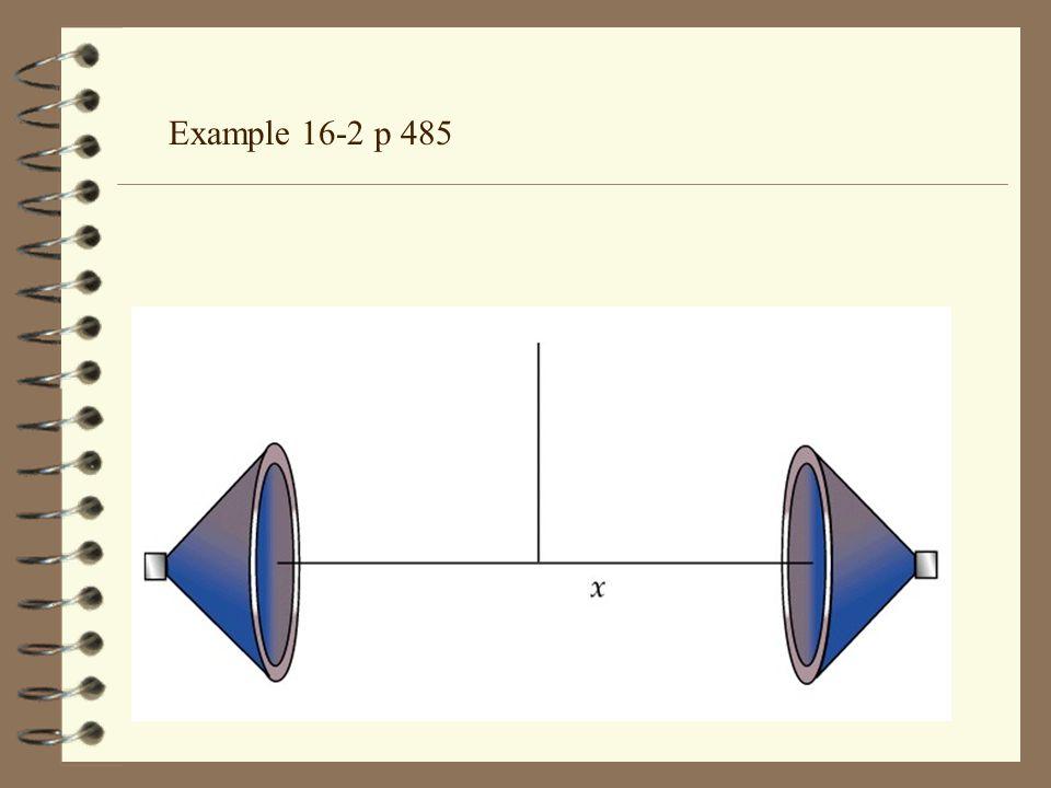 Example 16-2 p 485