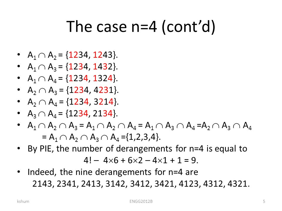 Conditional probability If we are given an addition information that the outcome is in event B, then we can update the likelihood to |A  B|/ |B|.