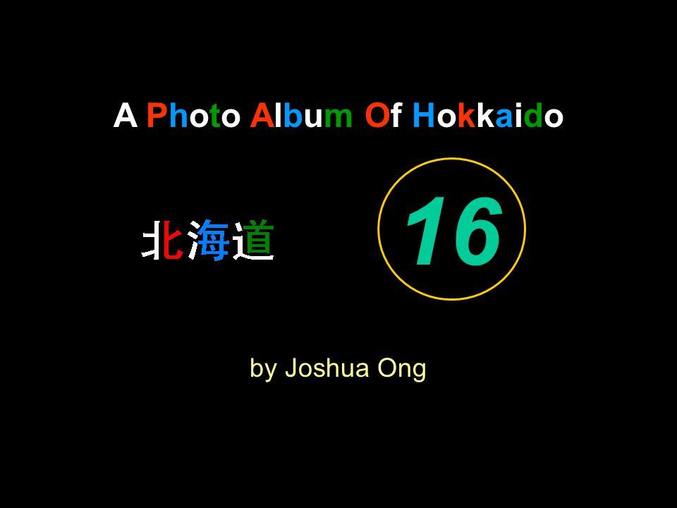 A Photo Album Of Hokkaido by Joshua Ong 16