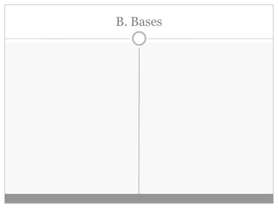 B. Bases