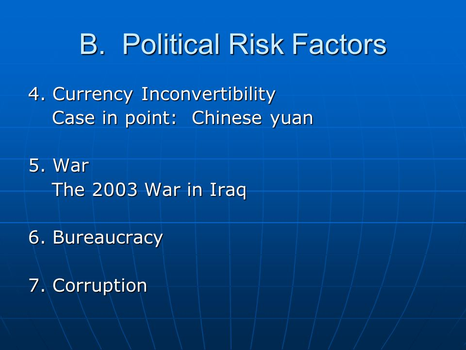 C.Financial Risk Factors 1.