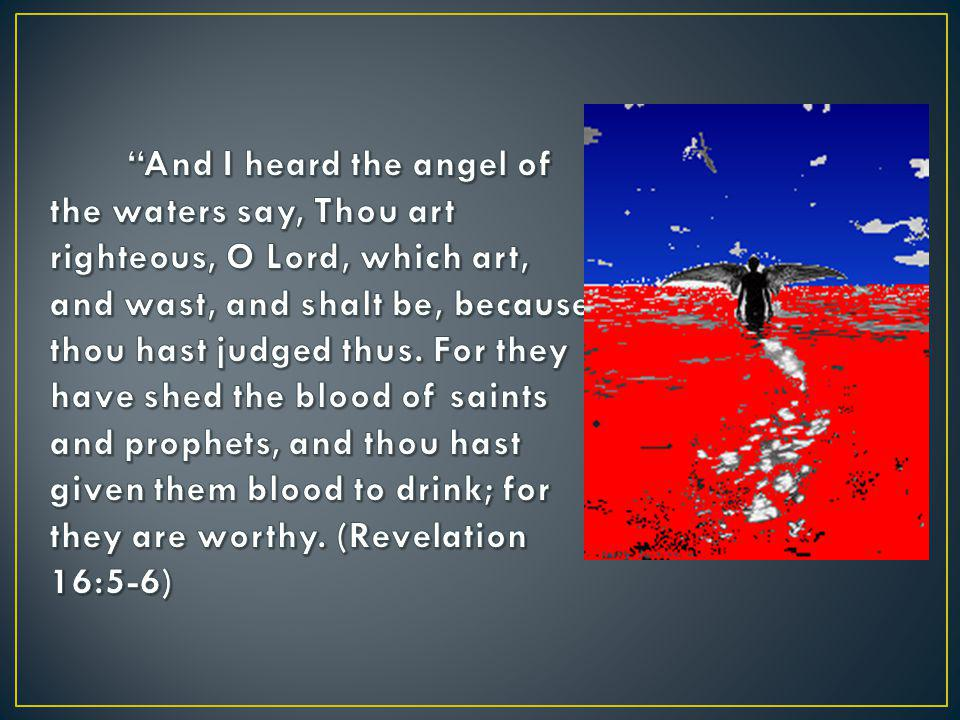 And the seventh angel poured out his vial into the air; and there came a great voice out of the temple of heaven, from the throne, saying, It is done. (Revelation 16:17)