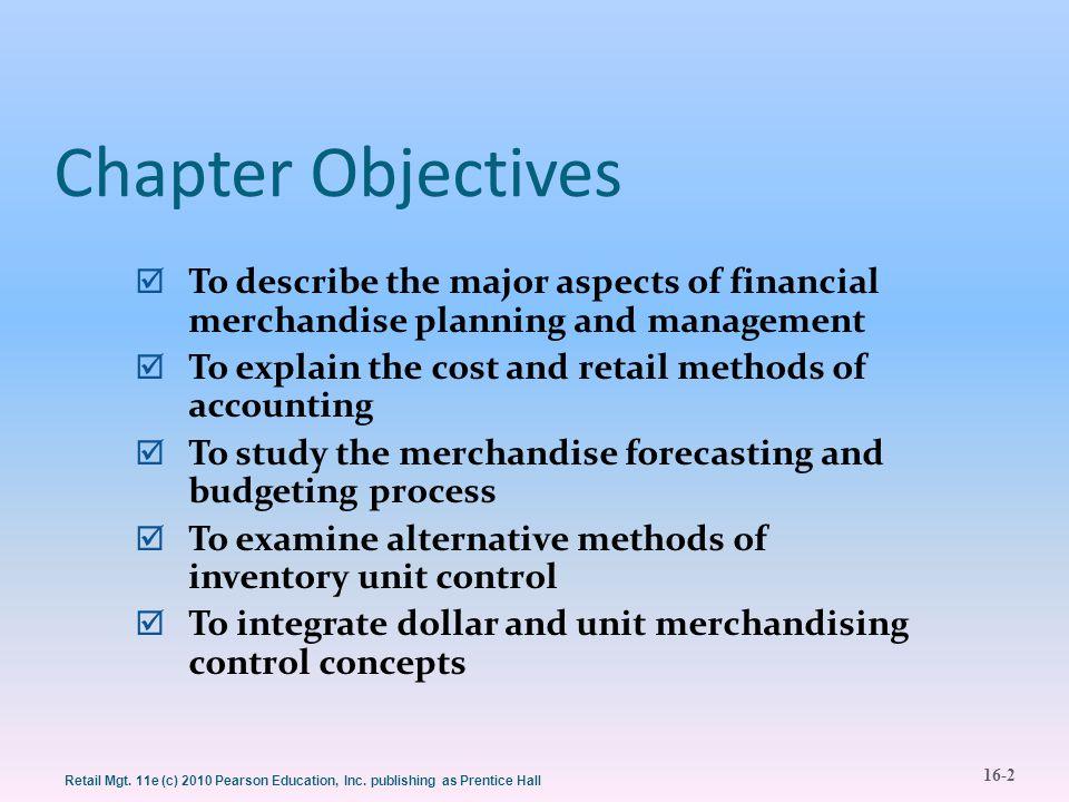 16-3 Retail Mgt.11e (c) 2010 Pearson Education, Inc.