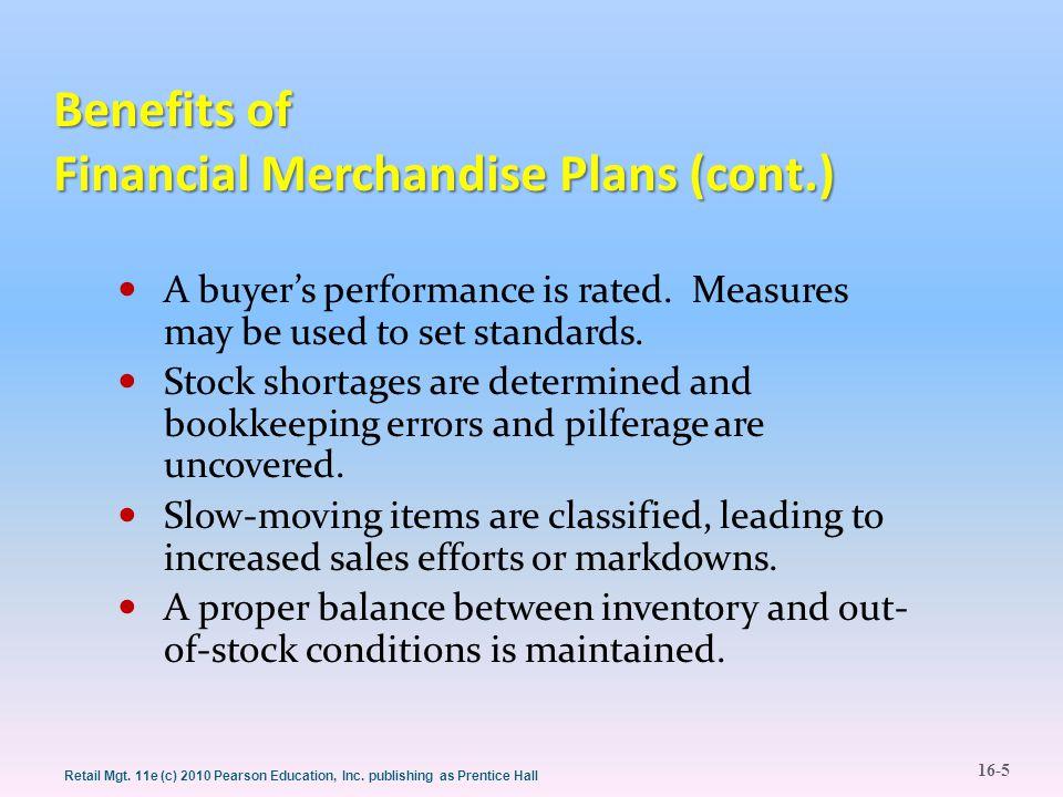 16-16 Retail Mgt.11e (c) 2010 Pearson Education, Inc.