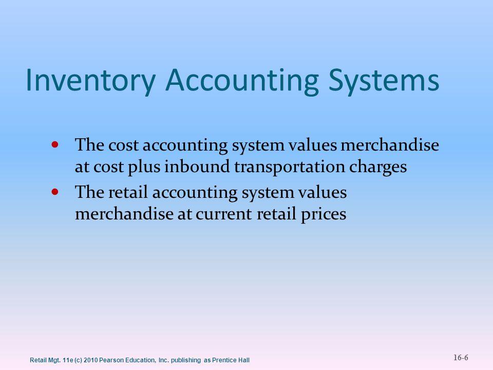16-27 Retail Mgt.11e (c) 2010 Pearson Education, Inc.