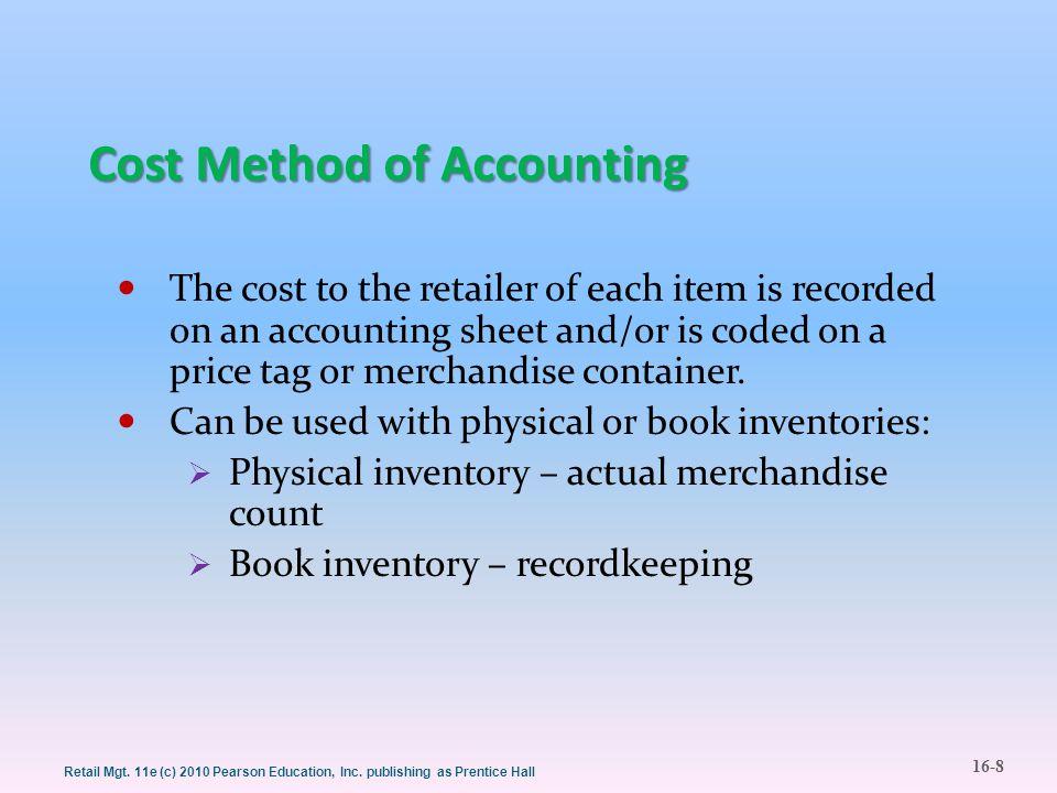 16-9 Retail Mgt.11e (c) 2010 Pearson Education, Inc.