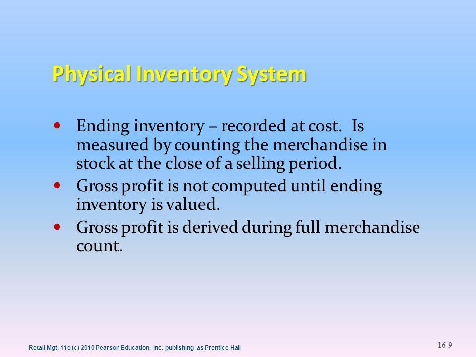 16-10 Retail Mgt.11e (c) 2010 Pearson Education, Inc.