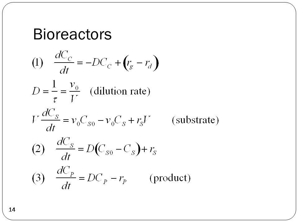 Bioreactors 14