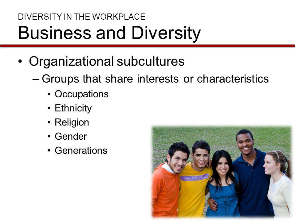 DIVERSITY IN THE WORKPLACE Business and Diversity Glass Ceiling –Career advancement barrier to women and minorities