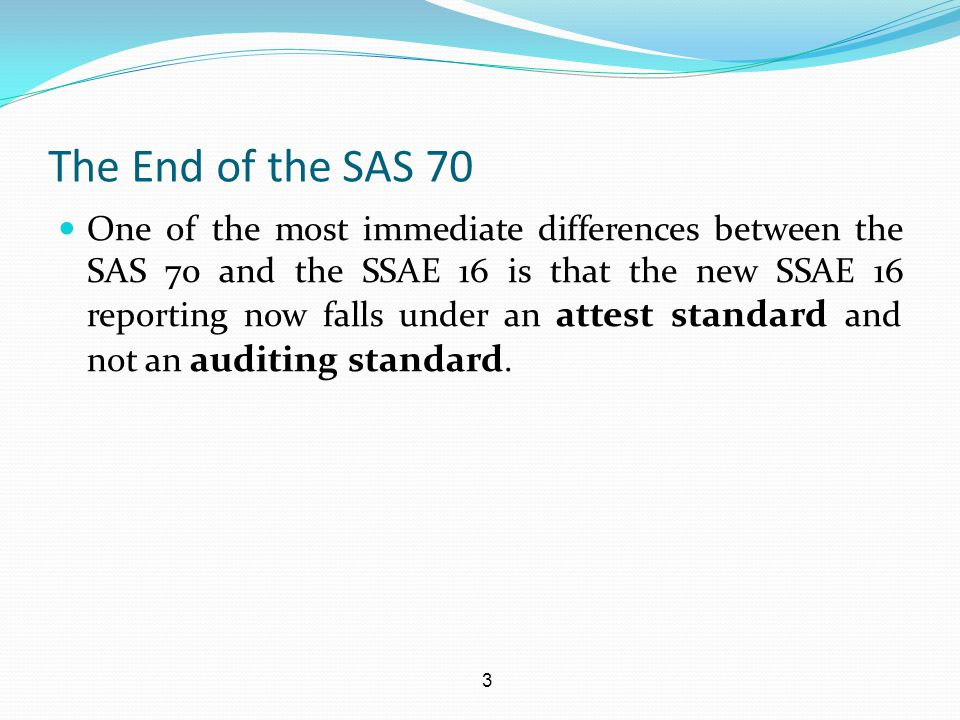 14 What has Changed with the SSAE 16.Use of Suitable Criteria.