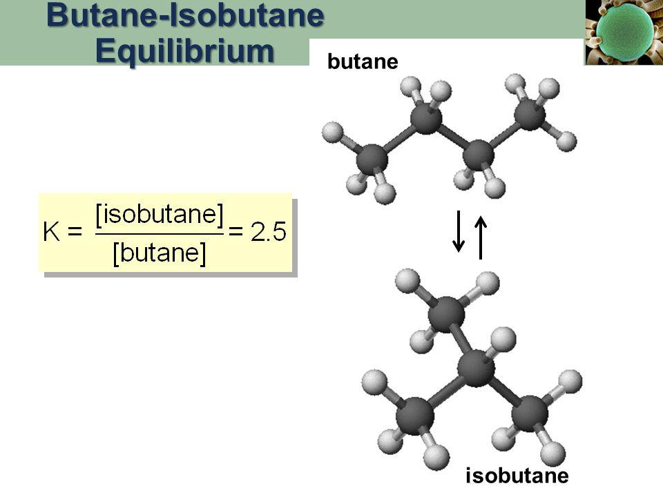 butane isobutane Butane-Isobutane Equilibrium