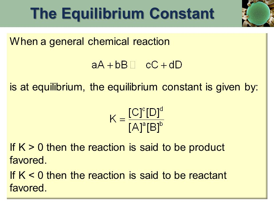 Effect of Volume Changes on Gas-Phase Equilibria What would happen if the total volume of the system was suddenly doubled.