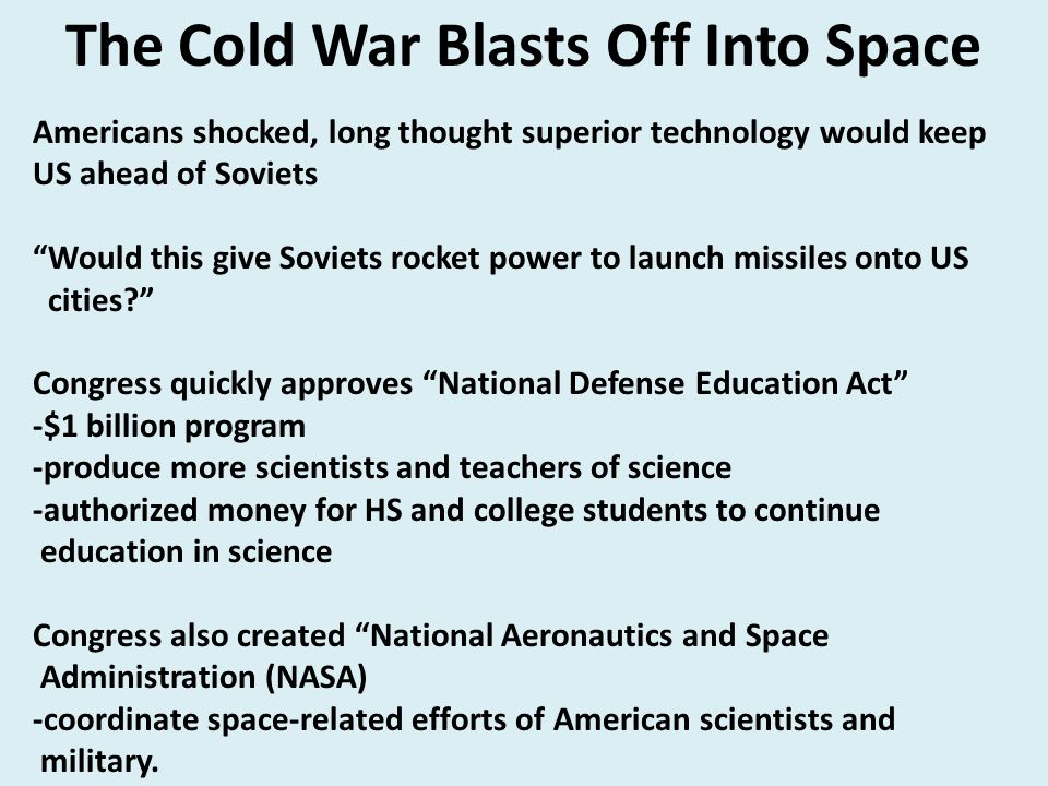 """Americans shocked, long thought superior technology would keep US ahead of Soviets """"Would this give Soviets rocket power to launch missiles onto US ci"""