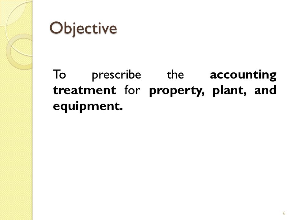 Initial Measurement An item of property, plant and equipment should initially be recorded at cost.