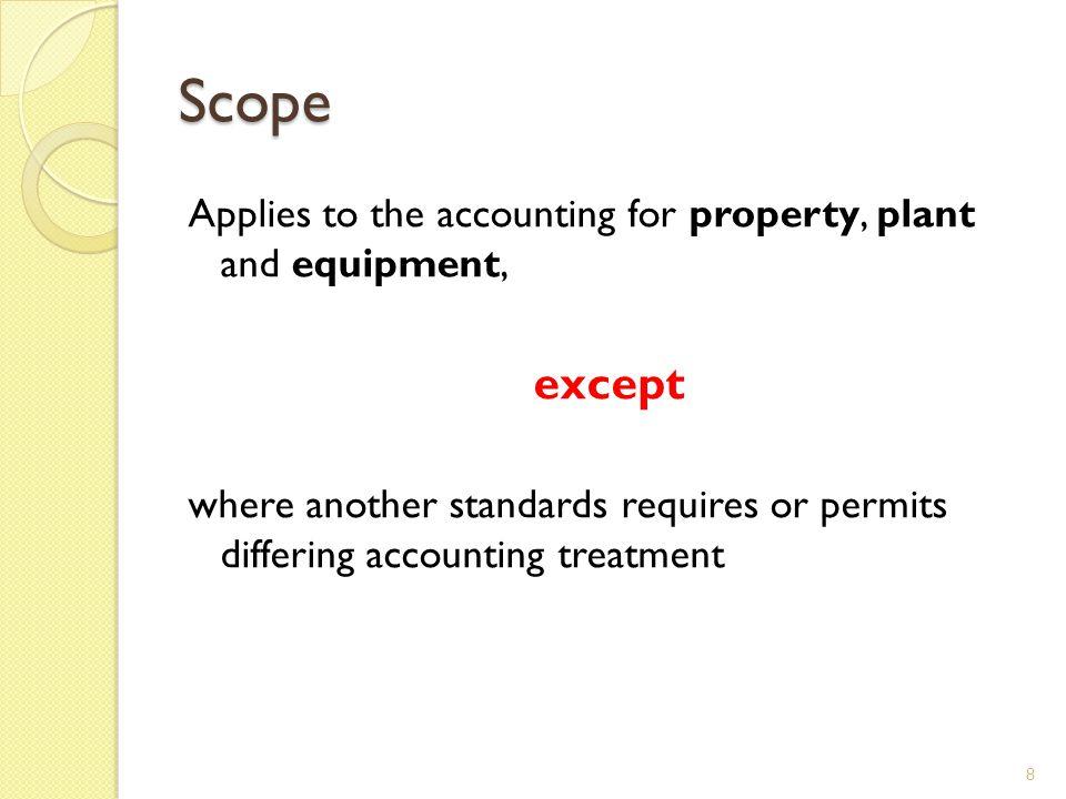EXAMPLE: cost model vs revaluation model Year X4 Depreciation (40.000/2) (Dr) Depreciation 20.000 (Cr )Accumulated depreciation 20.000 devaluation (20.000-12.000) (Dr) Revaluation Reserve (Equity) 8.000 (Cr ) Asset 8.000 49