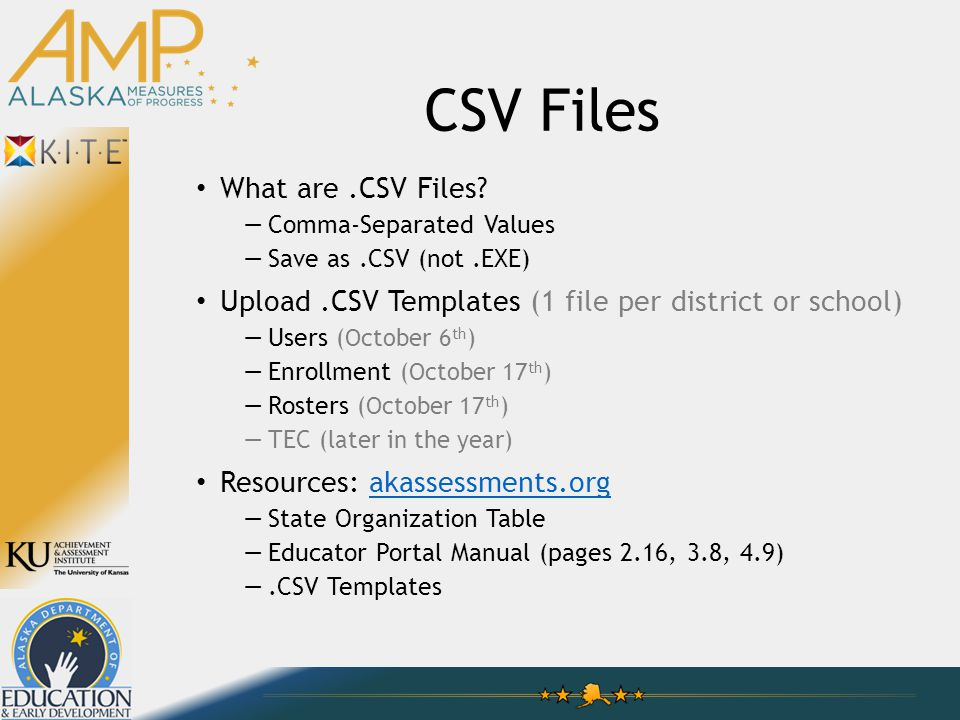 CSV Files What are.CSV Files.