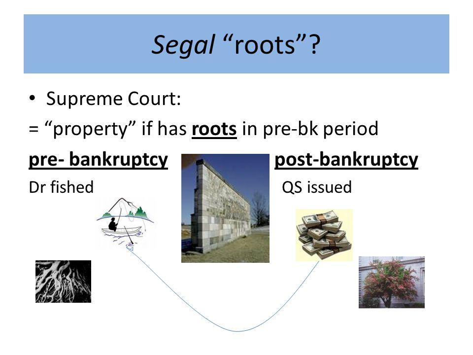 Segal roots .