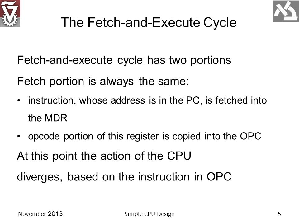 Suppose OPC is a load accumulator instruction.