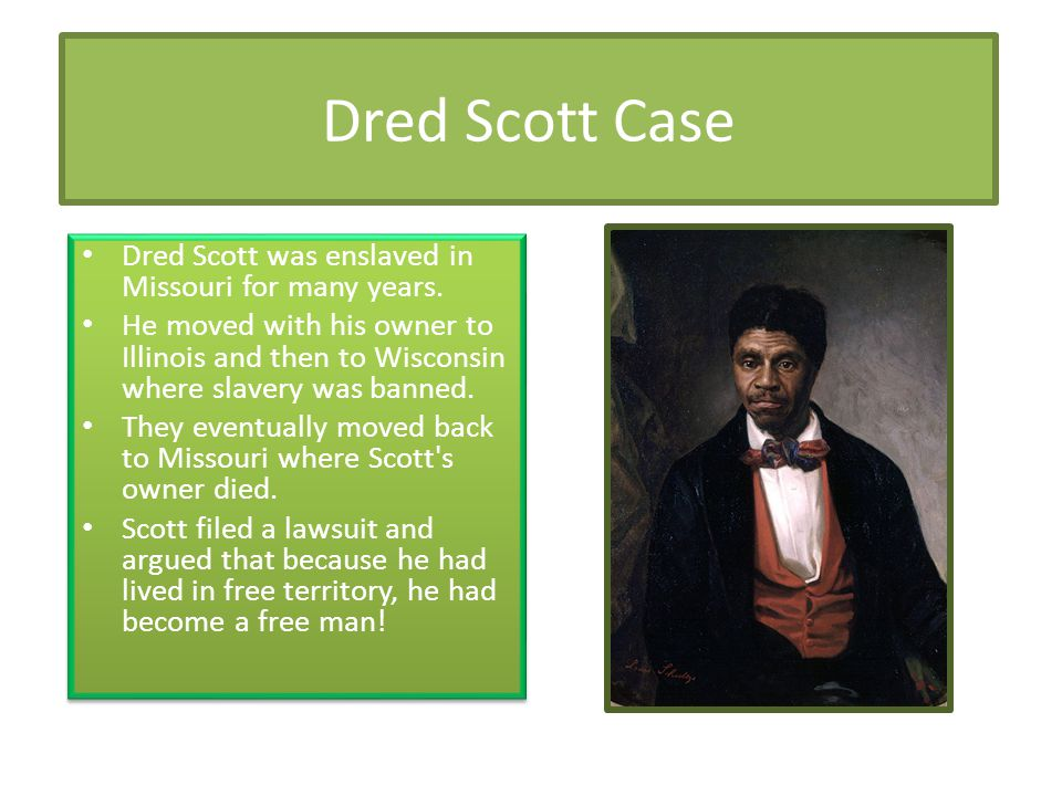 Dred Scott Case