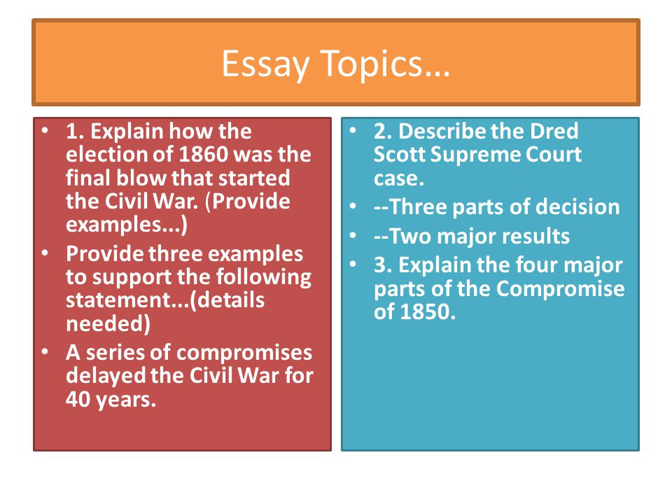 The Thesis Statement Of An Essay