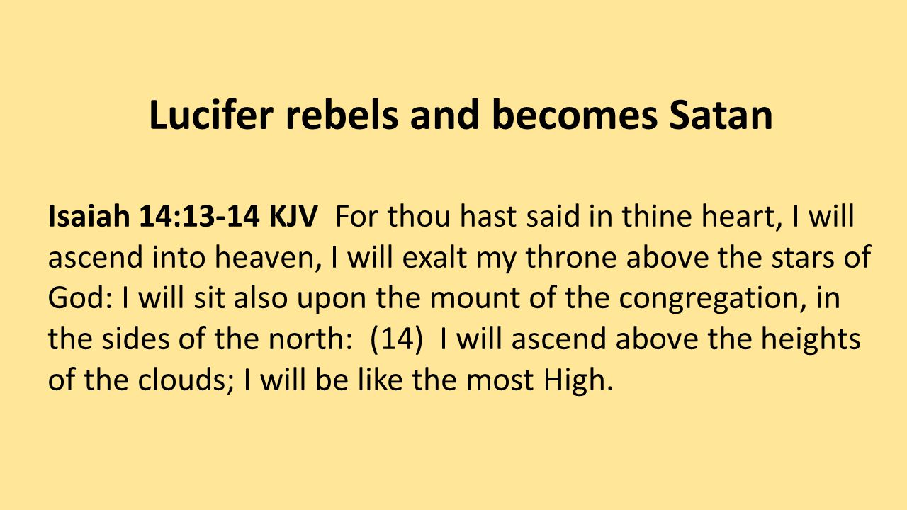 1 Samuel 15:23 KJV For rebellion is as the sin of witchcraft, and stubbornness is as iniquity and idolatry.