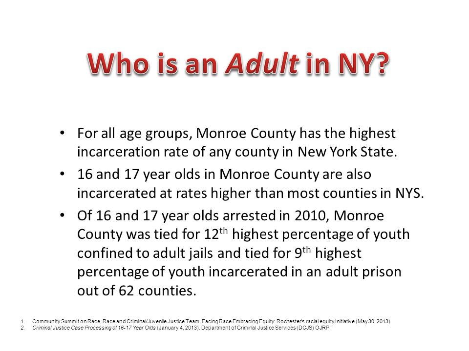 CountyPrisonJailProbationOther SentenceNot Convicted Or Adjudicated Total N%N%N%N%N%N% NYC Total4861.821588.17452.8571821.41764366.026750100.0 Albany283.9689.5669.221730.333747.1716100.0 Chautauqua51.96324.3207.76123.611042.5259100.0 Chemung21.13016.62413.35329.37239.8181100.0 Columbia11.02222.71414.42424.73637.197100.0 Cortland34.958.2813.12236.12337.761100.0 Delaware11.31418.467.92634.22938.276100.0 Fulton21.82522.765.55045.52724.5110100.0 Greene23.42 1118.62542.41932.259100.0 Lewis514.338.6617.1822.91337.135100.0 Livingston11.22125.31416.91619.33137.383100.0 Madison34.31014.31318.61724.32738.670100.0 Monroe493.324616.31499.918412.287958.31507100.0 Onondaga434.6879.213914.714315.153356.4945100.0 Orleans57.1811.4710.01825.73245.770100.0 Schenectady144.84816.33511.95719.414047.6294100.0 Seneca00.01322.446.91220.72950.058100.0 Sullivan00.02818.41610.54932.35938.8152100.0 Tioga00.0922.01229.3922.01126.841100.0 Warren53.3117.22919.03925.56945.1153100.0 Wyoming00.0816.7918.81531.31633.348100.0 Yates00.01532.6715.2510.91941.346100.0