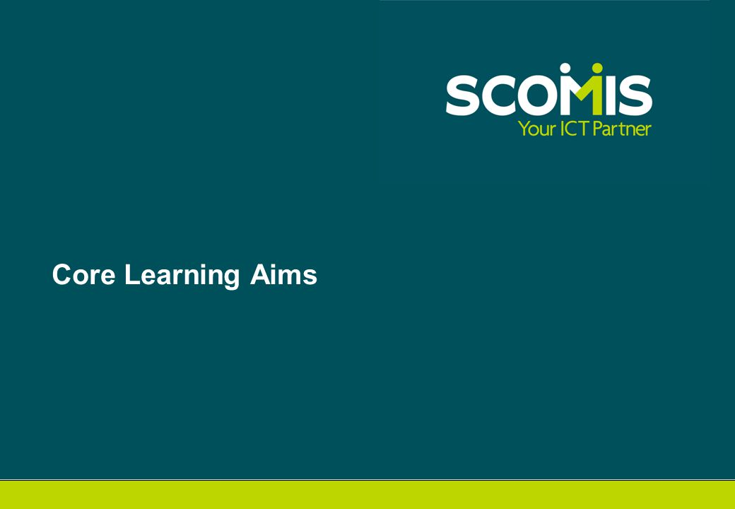 Core Learning Aims