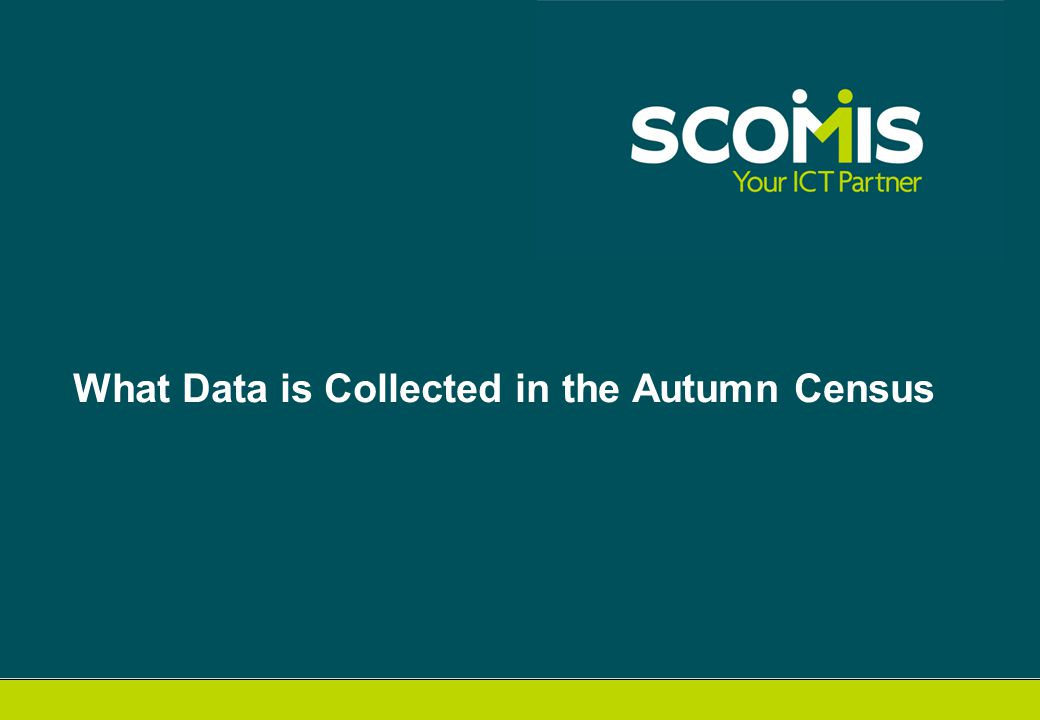 What Data is Collected in the Autumn Census