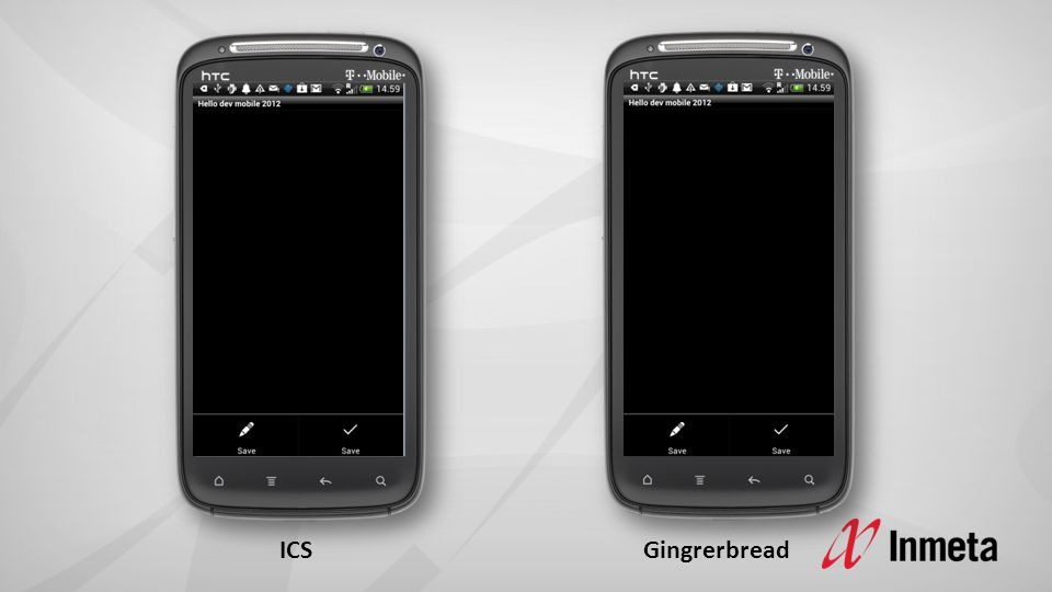 ICS Gingrerbread