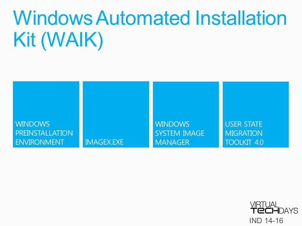 Windows Automated Installation Kit (WAIK)