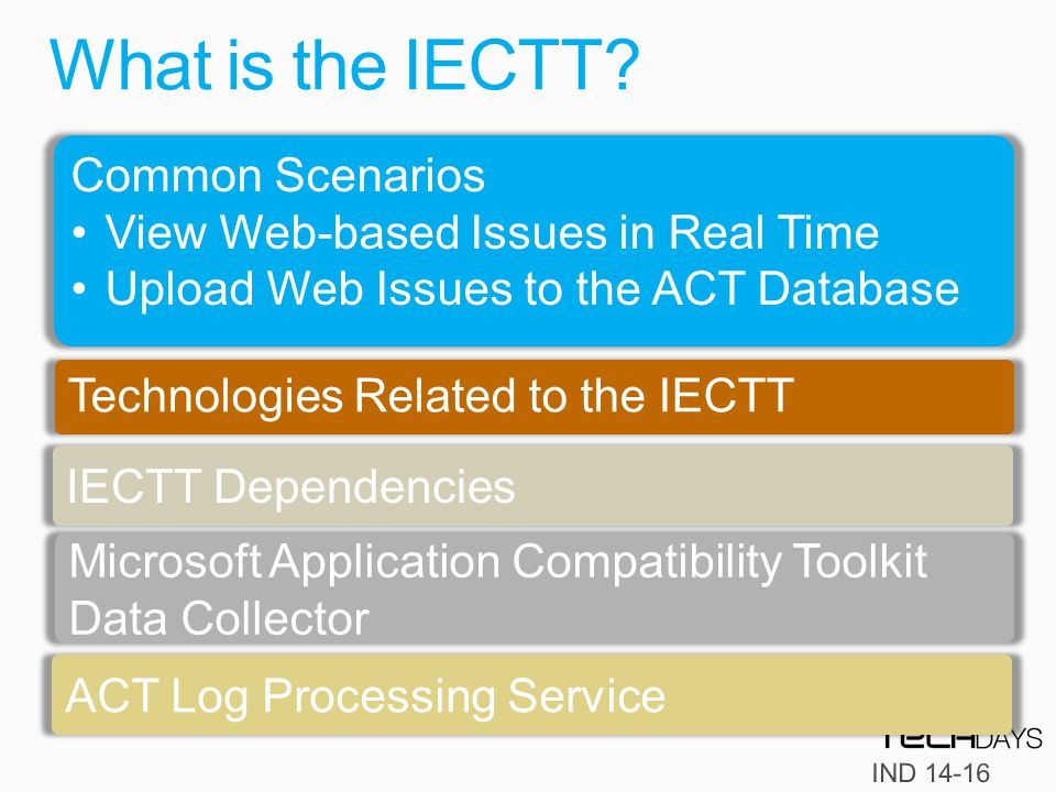 What is the IECTT.