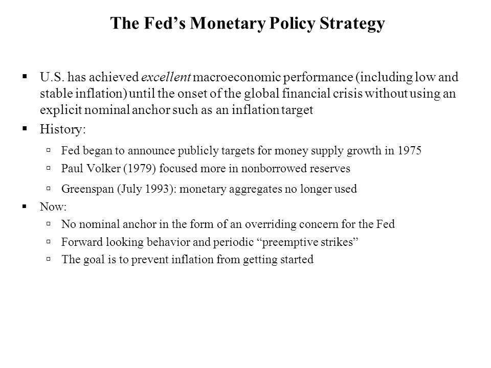 DRDR Required Reserves Ratio in CRISIS Mode 28Q SRSR i ff 3 i ff = i or =2 The Fed can't target money OMP Federal Funds market is in a liquidity trap Federal Funds Market  Money targeting: Can OMOs be used to keep MS growing steady.