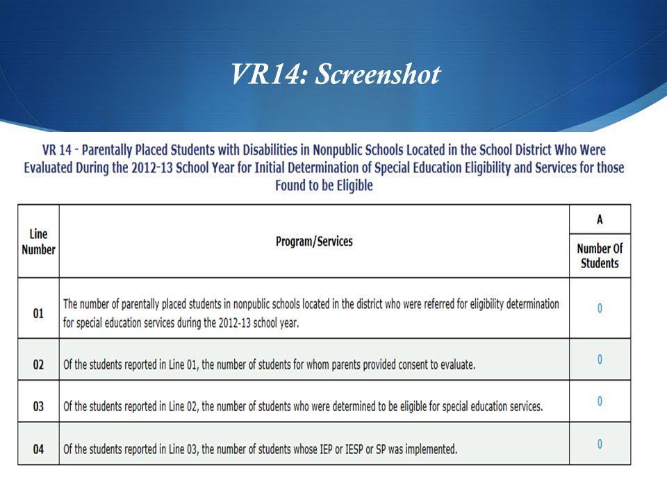VR14: Screenshot
