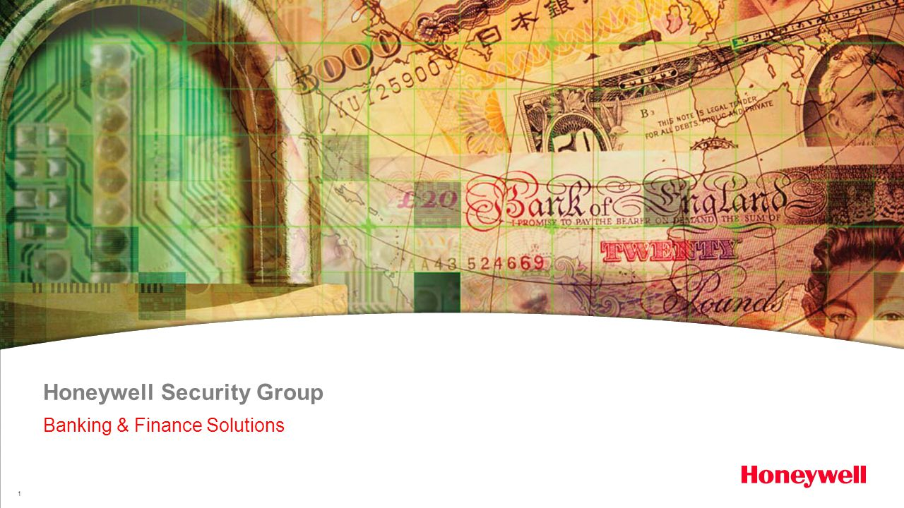 1 Honeywell Security Group Banking & Finance Solutions