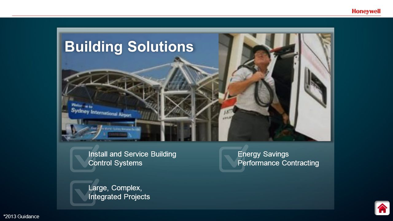 11 *2013 Guidance Building Solutions Install and Service Building Control Systems Large, Complex, Integrated Projects Energy Savings Performance Contracting