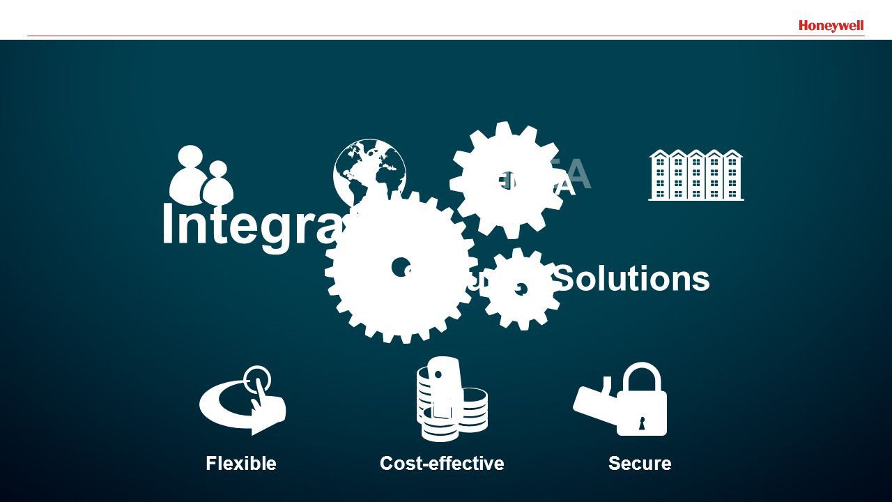 18 Cost-effective Integrated Security Solutions Flexible Secure EMEA